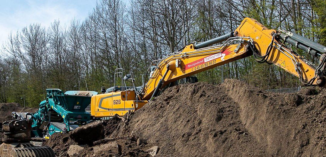 Aufbereitung von Bodenaushub