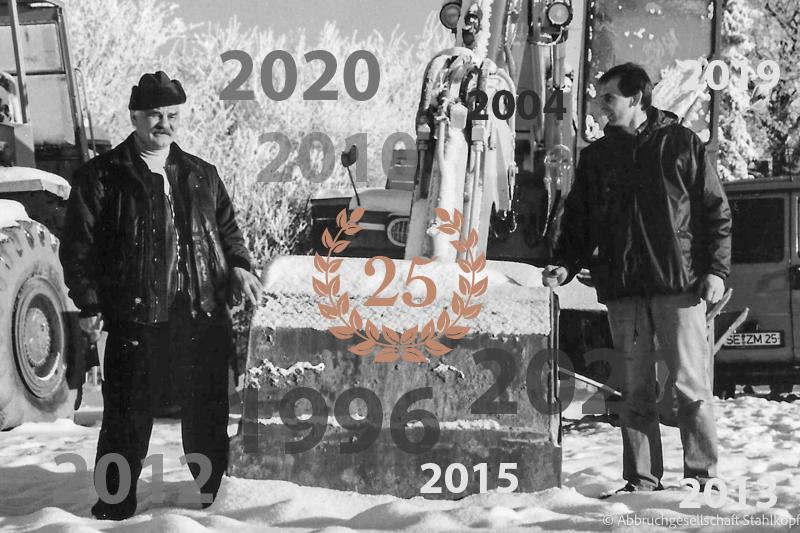 25 Jahre Abbruchgesellschaft Stahlkopf mbH (1996 bis 2021)